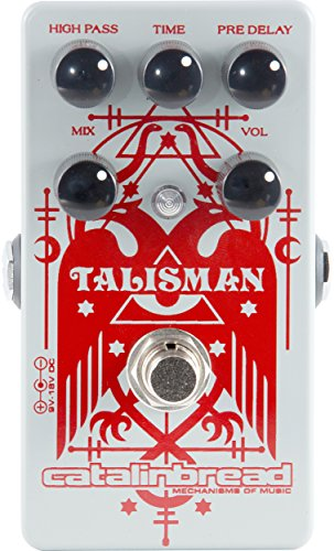 Catalinbread Talisman Classic Plate Reverb Guitar Effects Pedal