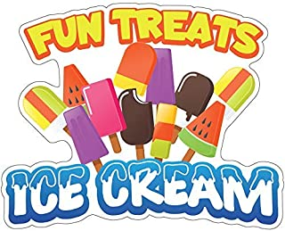 SignMission Fun Treats Ice Cream 12