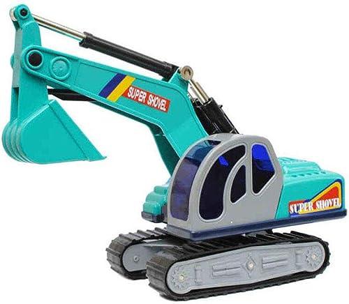 Ffürößes Raupenbagger-Modell 3-j iges Kinderspielzeug-Auto 4-j iger Baby-Bagger 5-j iges Jungen-Spielzeug