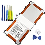 BOWEIRUI SP3496A8H (3.75V 33.75Wh 9000mAh) Tablet Battery Replacement for Samsung Google Nexus 10 N10 GT-P8110 P8110 Table PC Series HA32ARB P8110 with Tools