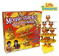 Mouse Stacks Cheese Tower Game, too many mice! A Fun Balancing Tumble Game 2 - 4 Players [並行輸入品]
