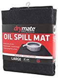 Drymate Oil Spill Mat (29' x 36'), Premium Absorbent Oil Mat – Reusable/Durable/Waterproof – Oil Pad Contains Liquids, Protects Garage Floor Surface (Made in The USA)
