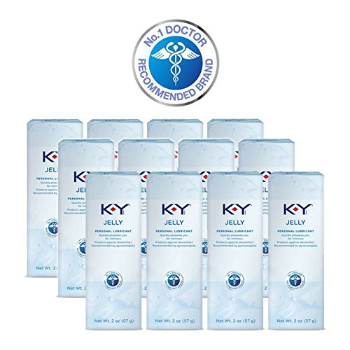 K-Y Jelly Personal Lubricant, 2 oz. (Pack of 12)