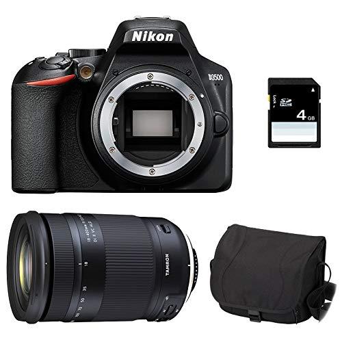 Nikon D3500 + TAMRON 18-400 VC + Sac + Carte SD 4Go