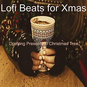 Opening Presents O Christmas Tree