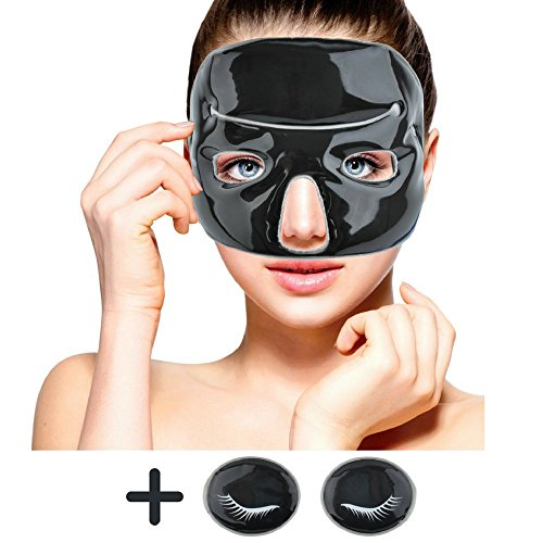 Terapia de frío máscara facial, arcilla