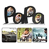 SanChesee Personalized Father's Day PaPa Picture Frame Dad Birthday Gifts from Daughter or Son Wooden DaD Collage Clip Photo Frame Letter Art Ornaments Home Office Desktop Decoration