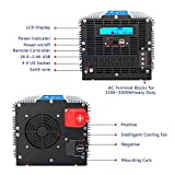 Photo #6: 5000 Watt Super Heavy Duty Power Inverter for Truck with Remote Control and LCD Display and 4 AC Sockets Dual USB Ports