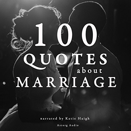 100 Quotes about Marriage audiobook cover art
