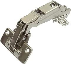 2x Bisagra de cazoleta curvas 45/° con clip amortiguador para puerta de muebles C41047 AERZETIX