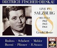 Salzburg Recitals by Dietrich Fischer-Dieskau