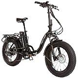 Monster 20″ LOW-e-- e-Bike Plegable - Suspensión Delantera - Motor...