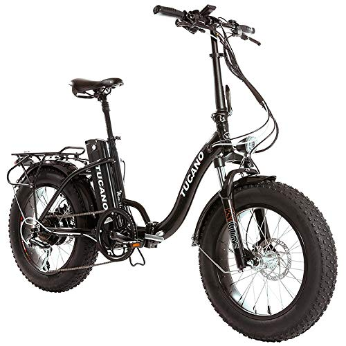Monster 20″ LOW-e-e - eBike Plegable - Suspensión Delantera - Motor 500W