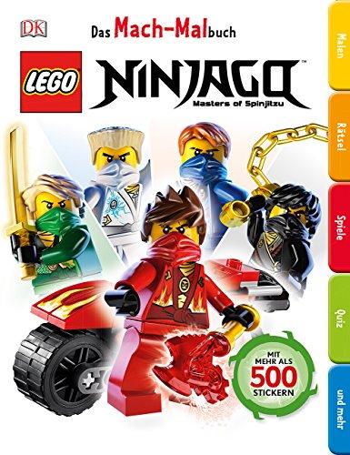 Das Mach-Malbuch. LEGO® Ninjago: Master of Spinjitzu