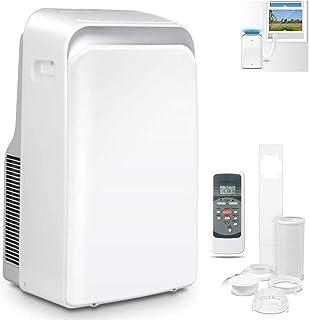 DNNAL Aire Acondicionado portátil, Enfriador de Aire de Control Remoto con Nueva calefacción y la refrigeración, la función del Ventilador