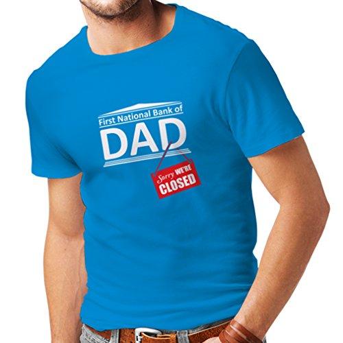 lepni.me Camisetas Hombre El Regalo Divertido para el papá FNB está Cerrado Día de Padres