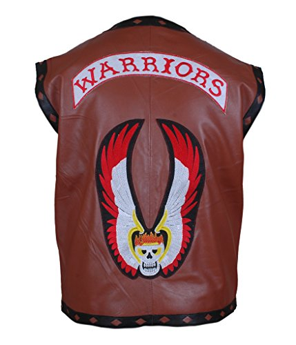 F&H Men's The Warriors Movie Vest 2XL Brown