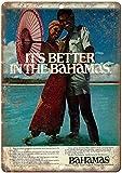 Bahamas Nassau Reise-Deko-Schilder, 20,3 x 30,5 cm,