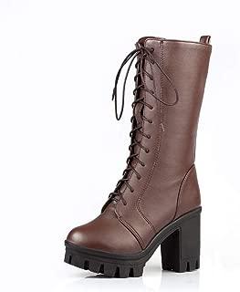 BalaMasa Womens ABS13896 Pu Boots