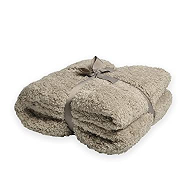 Battilo Oversized Plush Sherpa Large Throw Blanket 98  L x 78  W