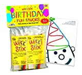 WikkiStix 108 Birthday Fun Favors, Pack of 20 Molding & Sculpting Sticks