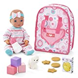 You & Me Travel Baby Doll with Backpack