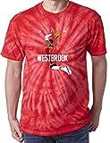 TIE-DYE RED Houston Westbrook Brodie AIR T-Shirt Adult