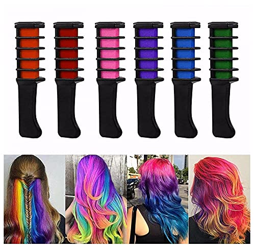 Qikafan Disposable Hair Chalk Comb Only $2.00 (Retail $19.99)