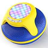 cowin Swimmer Waterproof Bluetooth Speaker 4.0 Portable Floating Wireless Speakers IPX7 with 10W Plus Deep Bass and Colorful LED Light