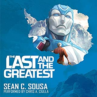 The Last and the Greatest audiobook cover art