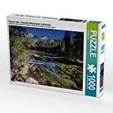 CALVENDO Puzzle Tenaya Lake, Yosemite Nationalpark, Kalifornien 1000 Teile Lege-Größe 64 x 48 cm Foto-Puzzle Bild von Rolf Hitzbleck