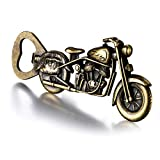 Motorcycle Beer Gifts for Men Dad Husband , Bronze Vintage Motorcycle Bottle Opener, Christmas Presents Stocking Stuffers Unique Birthday Anniversary Gifts for Him Boyfriend Grandpa, Cool Gadgets