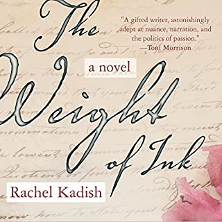 The Weight of Ink audiobook cover art