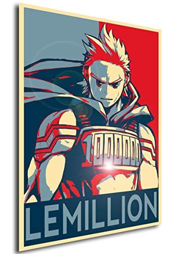 Instabuy Poster Propaganda My Hero Academia Lemillion A3 42x30