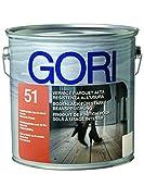 GORI 51 Vernice per parquet e Scale in Legno, incolore Opaco