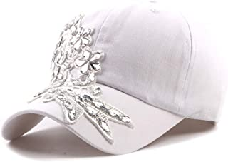 Women Fashion Simple Personality Casual Baseball Cap Cotton Washed Cap Embroidery Breathable Adjustable Back Light Weight Cap B919 (Color : 3, Size : Free Size)
