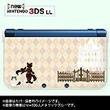 new Nintendo 3DS LL 専用 カバー ケース ( ハード ) ニンテンドー 長靴を履いた猫 ベージュ アーガイル チェック