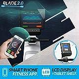 Bluefin Fitness Blade Heim-Gym Zusammenklappbares Rudergerät   Anpassbarer magnetischer Widerstand   8 x Intensitäts-Stufen   Reibungsloser Riemenantriebe   Smartphone-App - 4