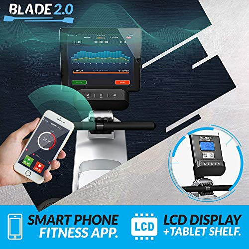 Bluefin Fitness Rameur d'Appartement Pliable Blade Résistance Magnétique Ajustable | 8X Niveaux de...