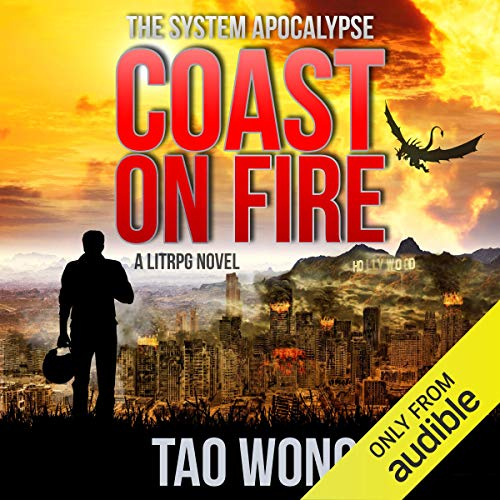 Coast on Fire: An Apocalyptic LitRPG cover art