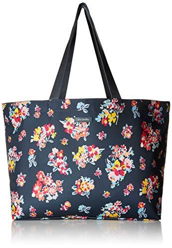 Vera Bradley Women's Lighten Up Large Family Tote Bag, Tossed Posies