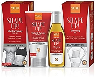 VLCC Combo Of Slimming Oil And Waist And Tummy Gel (200G Each)