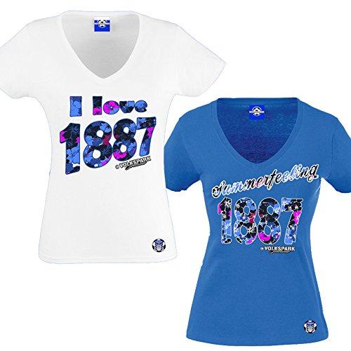 ◊k Hamburg Streetwear dames shirt pakket I Love/Summerfeeling
