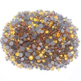 Hot-Fix - Piedras de imitación (1440 unidades), diseño de cristales brillantes