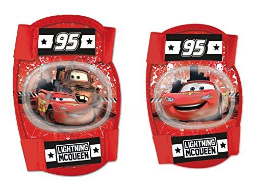 Disney Lot de genouillères et coudières Cars pour garçon - Multicolore - Taille S