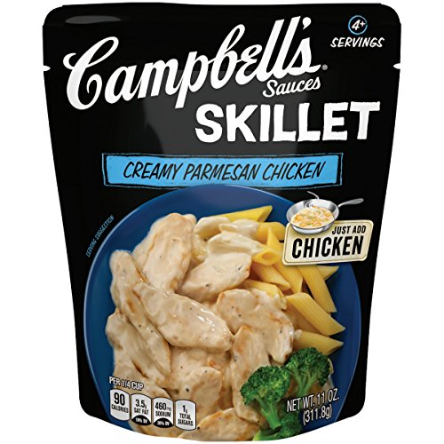 Campbell's Skillet Sauces, Creamy Parmesan Chicken, 11 oz. (Pack of 6)
