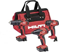 12-Volt Lithium-Ion Cordless Rotary SF 2H-A Hammer, SID 2 Amp Impact Driver, SFD 2 Amp Screwdriver Combo (3-Tool)
