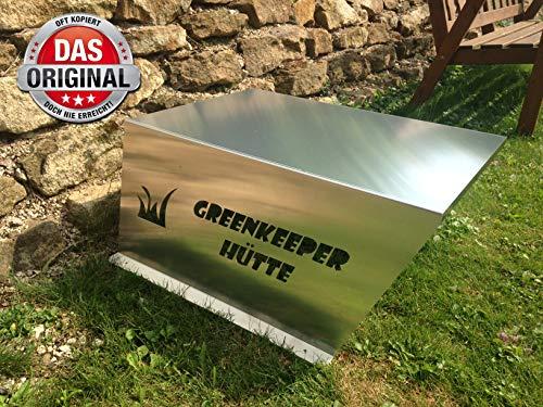 Mähroboter Garage Rasenmäher Garage - TEXT auf dem Blech jetzt auch individuell wählbar- siehe meine anderen Produkte