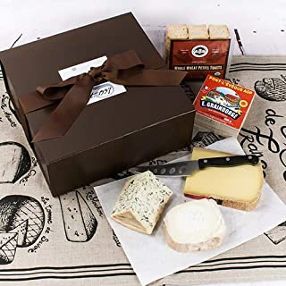 Gourmet French Cheeses for the Connoisseur in Gift Box