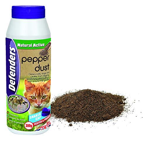 Defenders Pepper Dust 300 g, Garden Cat Repellent